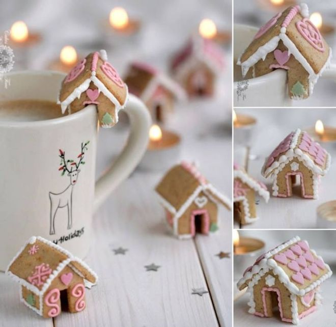 Wonderful DIY Cute Mini Gingerbread House