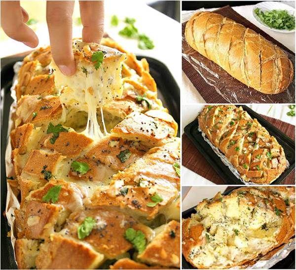 Wonderful DIY Delicious Stuffed Cheesy Bread
